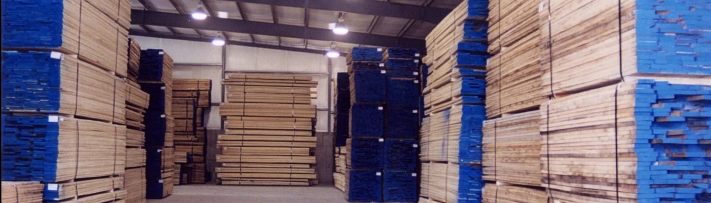 Hardwood Lumber Yard